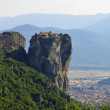 Stock Photo: Monasteries of Meteora in Greece