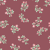 Delicate floral pattern — Stock Vector