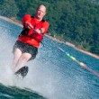 Baby boomer waterskiis — Stock Photo