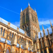 Lincoln Cathedral, England — Stock Photo