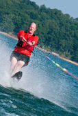 Baby-Boomer-waterskiis — Stockfoto