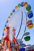 Colorful ferris wheel — Foto Stock