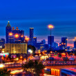 Atlanta at night — Stockfoto