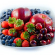 Bowl of  fruit — Stock Photo