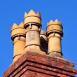 Chimney pots — Stock Photo