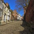Steep Hill Lincoln — Stock Photo