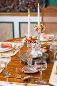 高級レストラン — ストック写真