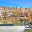 Pulteney Weir, Bath — Stock Photo