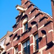 Постер, плакат: Trapgevel or stair step gable Amsterdam