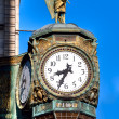 Father Time Clock, Chicago — Stock Photo