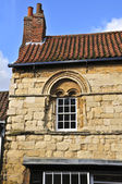 Romanesque windows — Stock Photo