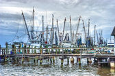 Fishing fleet — Stock Photo