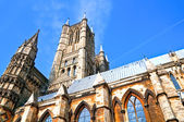 Lincoln cathedral and towers — Stock Photo
