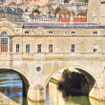 Pulteney Bridge, Bath — Stock Photo #28750017