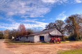 Old farm shed — Stock Photo
