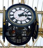 Relógio de estação ferroviária — Foto Stock