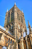 Lincoln Cathedral tower, UK — Stock Photo