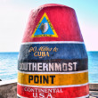 Southernmost marker, Key West — Stock Photo