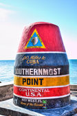 Southernmost marker, Key West — 图库照片
