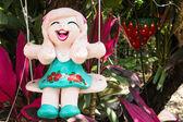 Baked clay dolls — Stock Photo