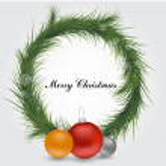 Xmas wreath — Stock Vector #31389739