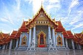 Wat Benchamabophit, Bangkok, Thailand — Stock Photo