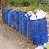 открытый мусор — Стоковое фото
