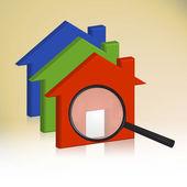 RGB house — Stockfoto