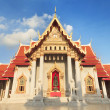 Stock Photo: Wat Benchamabophit, bangkok, thailand