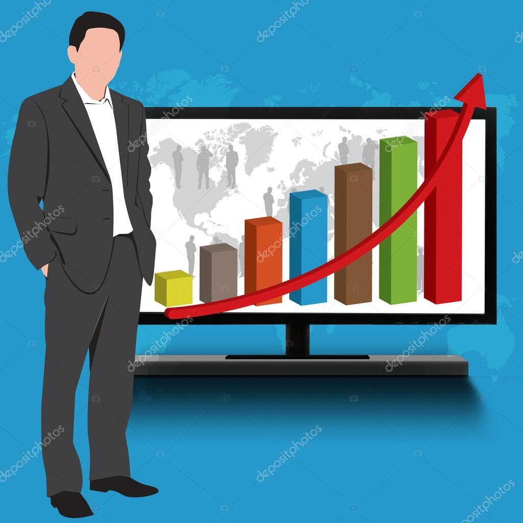бизнес графика: