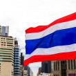 National flag of Thailand — Stock Photo