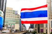 Tayland bayrağı — Stok fotoğraf
