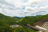 Srinakarin Dam in Thailand — Stock Photo