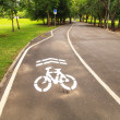 Bike lane — Stock Photo #30179803