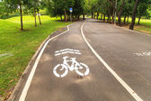 Bike lane — Stock Photo