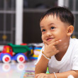 Happy little boy — Stockfoto