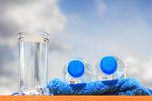Sklenici vody — Stock fotografie