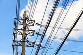 Polacy energii elektrycznej — Zdjęcie stockowe