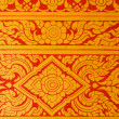 Thai art wall pattern — Stock Photo