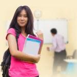 Asian schoolgirl — Stock Photo #35462783