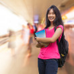 Asian schoolgirl — Stock Photo #35466411