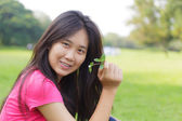 Asian girl — Stock Photo