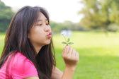 Asijská dívka — Stock fotografie