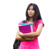 Asijské školačky — Stock fotografie