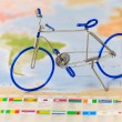 Toy bicycle — Stock Photo #35527861
