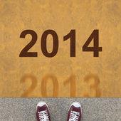 2013 - 2014 — Стоковое фото