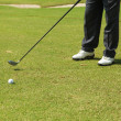 Photo: Mplaying golf