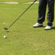 Mplaying golf — Foto de stock #37131635