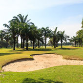 Hermoso campo de golf — Foto de Stock