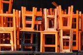Zásobník židle — Stock fotografie